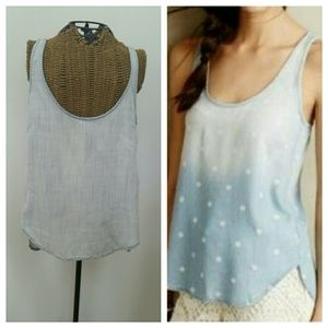 CLOTH & STONE sun drenched tencel tank top S